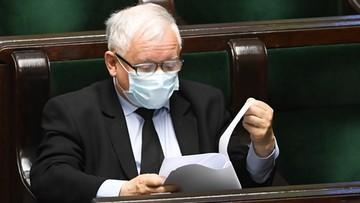 Kaczyński: opozycja nie cofnęła się przed zablokowaniem wyborów
