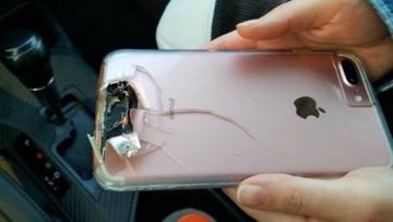 Gdyby nie smartfon - mogłaby nie żyć. Kula zamachowca z Las Vegas trafiła w obudowę telefonu