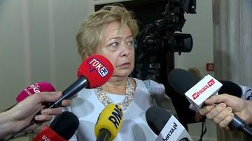 Gersdorf: nie złożę wniosku do prezydenta o dalsze orzekanie. Konstytucja gwarantuje mi posadę