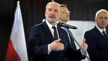 PO składa zawiadomienie do prokuratury w sprawie wypadku z udziałem Macierewicza