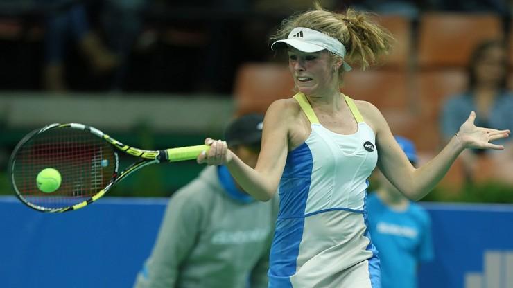 WTA w Lyonie: Magdalena Fręch i Katarzyna Kawa bez sukcesu w deblu