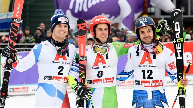 Alpejski PŚ: Niespodziewany triumf Kranjca w Saalbach-Hinterglemm