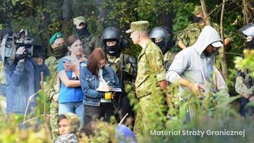 Premier: setki białoruskich prowokacji. Migranci ściągani na granicę