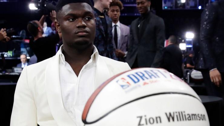 NBA: Pech Williamsona w debiucie