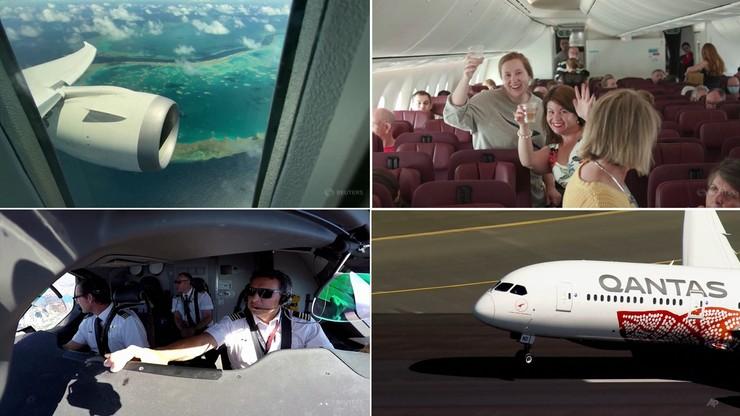Lot donikąd w Australii. Pasażerowie zachwyceni