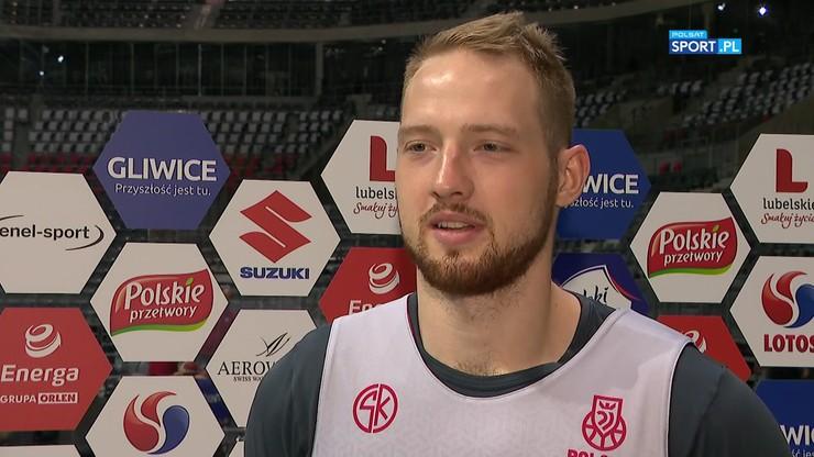 Aleksander Dziewa: Koszykówka reprezentacyjna jest bardzo fizyczna