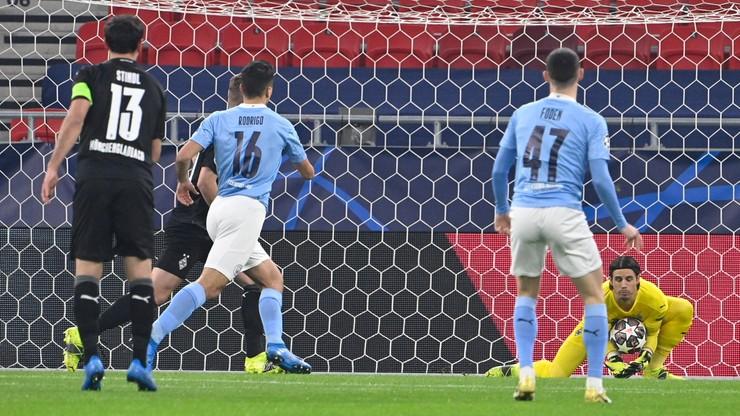 Liga Mistrzów: Manchester City pewnie pokonał Borussię Moenchengladbach