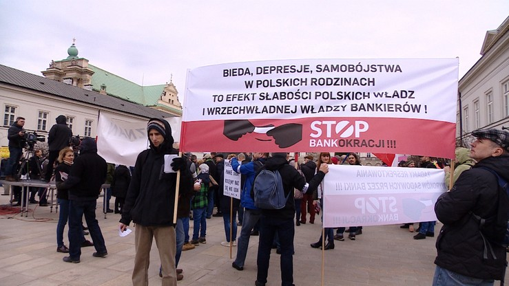 """""""Potraktujcie projekt ustawy, jak godło"""". Frankowicze apelują o poparcie projektu Kukiz'15 w ich sprawie"""