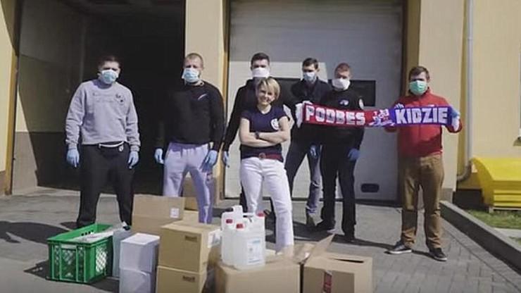 Kibice, działacze i sponsorzy Podbeskidzia wparli pogotowie