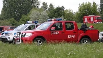 """Wypadek awionetki pod Poznaniem. """"Samolot spadł na pas startowy"""""""