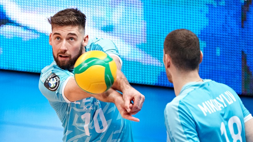 Zenit Kazań wygrał po raz drugi. Udany występ Bartosza Bednorza
