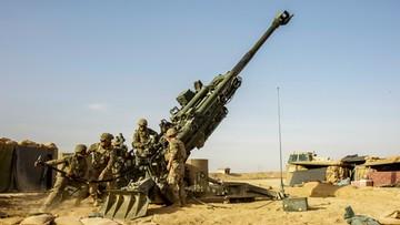 Syria. Atak rakietowy na amerykańską bazę wojskową w Al-Omar