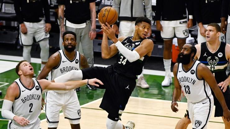 NBA: Będzie siódmy mecz między Milwaukee Bucks a Brooklyn Nets