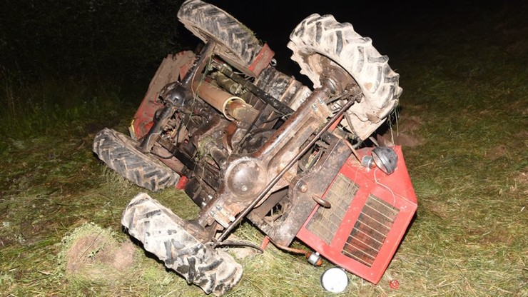 Czarna seria wypadków ciągników rolniczych. Nie żyją cztery osoby