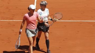 French Open. Świątek przegrała finał debla