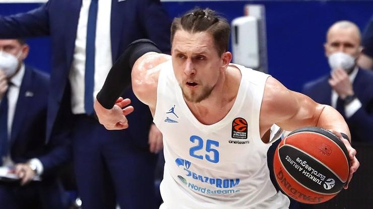Euroliga: Zenit Sankt Petersburg z Ponitką awansował do play off
