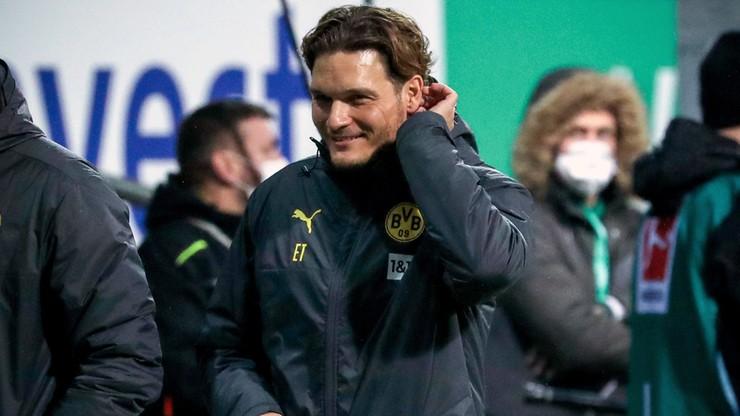 Bundesliga: Udany debiut Edina Terzica na ławce Borussii Dortmund