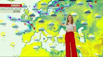 Prognoza pogody - środa, 5 maja - popołudnie