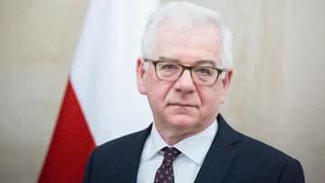 Jacek Czaputowicz podał się do dymisji