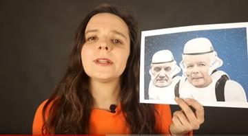 Atakowała Kaczyńskiego, parodiowała wyznanie wiary. Klaudia Jachira na liście KO w Warszawie
