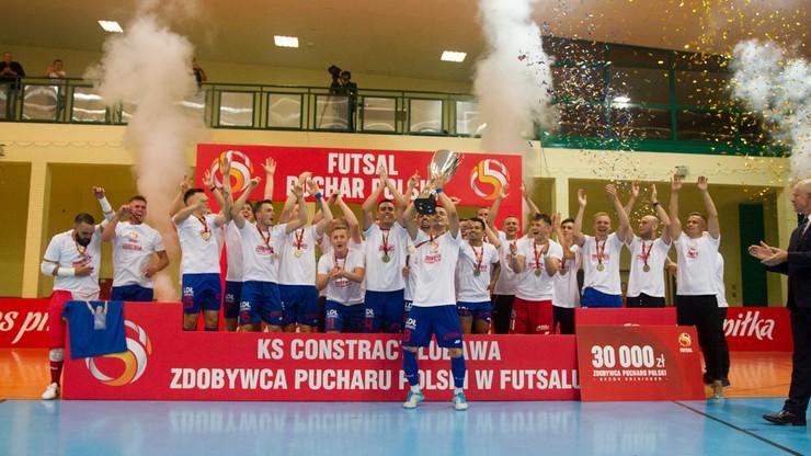 Puchar Polski w futsalu dla Constractu Lubawa