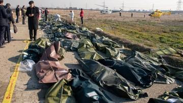 Iran zapłaci rodzinom ofiar zestrzelonego samolotu