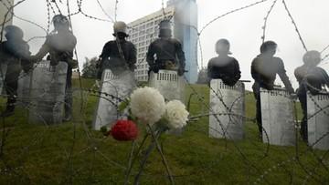 """""""Nie róbcie krzywdy własnemu narodowi"""". Polski policjant do białoruskiej milicji"""
