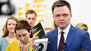Hołownia: w Polsce musi być bezpartyjny prezydent