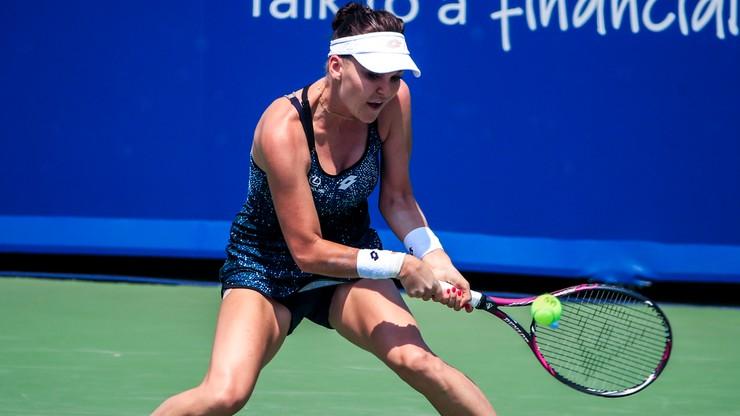 """""""Artystka tenisa"""". Najlepsze akcje Radwańskiej (WIDEO)"""