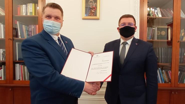 Tomasz Rzymkowski został wiceministrem edukacji i nauki