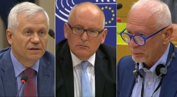 """""""Nie ma możliwości byśmy ten temat zostawili, bo jest zbyt trudny polityczne"""". Timmermans podczas debaty o praworządności w Polsce"""
