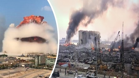 Eksplozja w Bejrucie była jedną z najpotężniejszych w historii ludzkości [FILM]