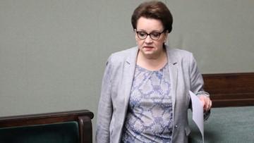 """Wniosek o odwołanie minister edukacji Anny Zalewskiej. """"Jest zupełnie niepotrzebna w tym rządzie"""""""