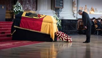 W Berlinie pożegnano byłego prezydenta Niemiec. Przemawiał Donald Tusk