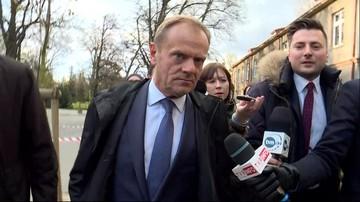 """""""To element politycznej nagonki"""" - Tusk przed wyjazdem na przesłuchanie w warszawskiej prokuraturze"""