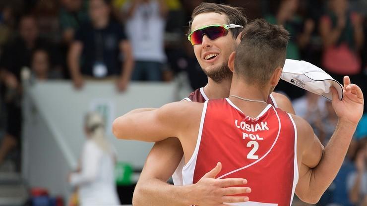 WT w siatkówce plażowej: Dwie polskie pary w ćwierćfinale