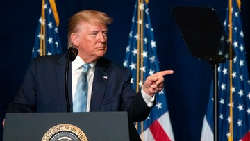 Trump: jeśli Iran zaatakuje USA, odpowiedź będzie bardzo szybka i mocna
