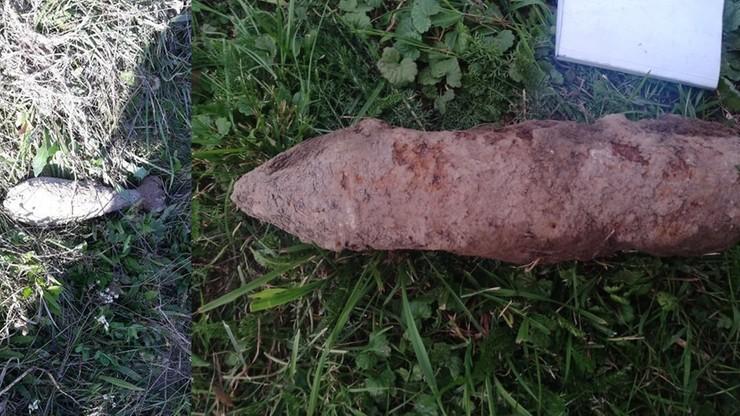 Niewybuch przy podstawówce w Lipnicy Wielkiej. Poprzedni wydobyto w pierwszym dniu roku szkolnego