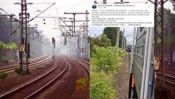 Pociągi jechały prosto na siebie. O krok od tragedii
