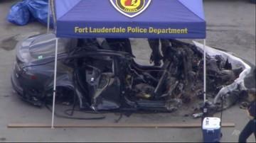 Pożar Tesli na Florydzie. Spłonęło dwóch 18-latków