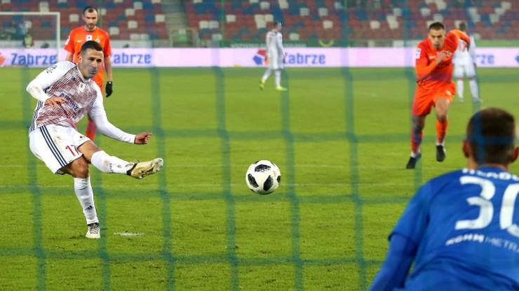 Dwa gole Angulo, trzy punkty Górnika Zabrze