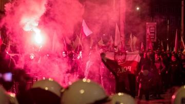 Zamieszki po marszu narodowców we Wrocławiu. Rodzice 4-latka z zarzutami