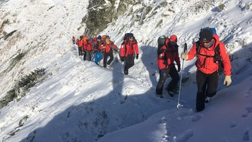 W Tatrach pierwsze w tym sezonie zagrożenie lawinowe