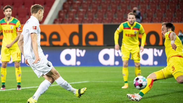 Bundesliga: Premierowe trafienie Roberta Gumnego dla Augsburga