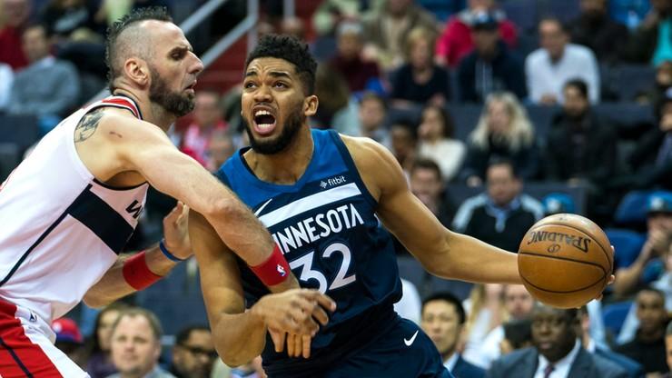 NBA: Domowa porażka Wizards. Skromny dorobek Gortata
