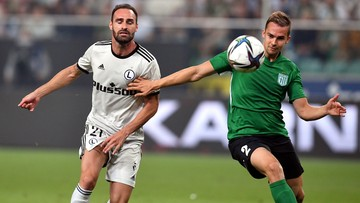 Liga Mistrzów: Legia Warszawa lepsza rzutem na taśmę. Lopes dobił Florę w samej końcówce