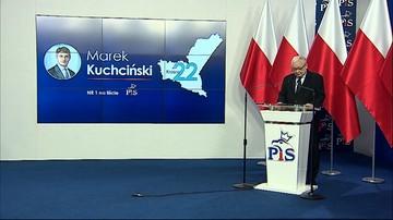 """Kaczyński w Warszawie, Morawiecki w Katowicach. """"Jedynki"""" PiS do Sejmu"""