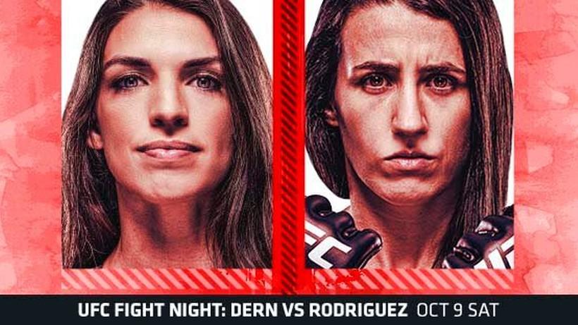 UFC Vegas 39: Mackenzie Dern - Marina Rodriguez. Transmisja TV i stream online