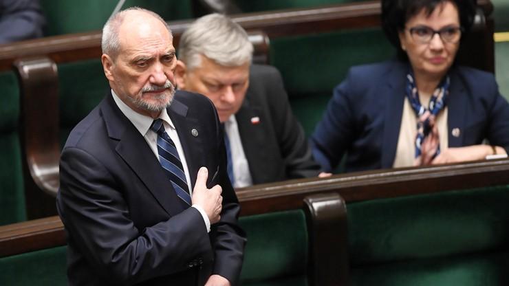 Prokurator IPN nie podjął na nowo lustracji Antoniego Macierewicza