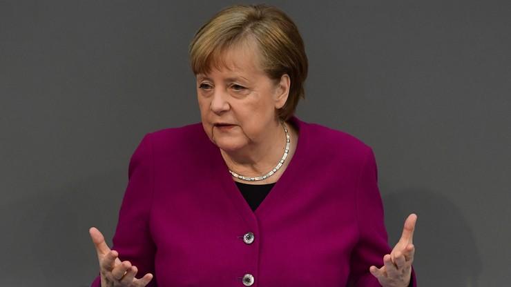 """Niemcy. Merkel za produkcją szczepionek """"na europejskiej ziemi"""""""